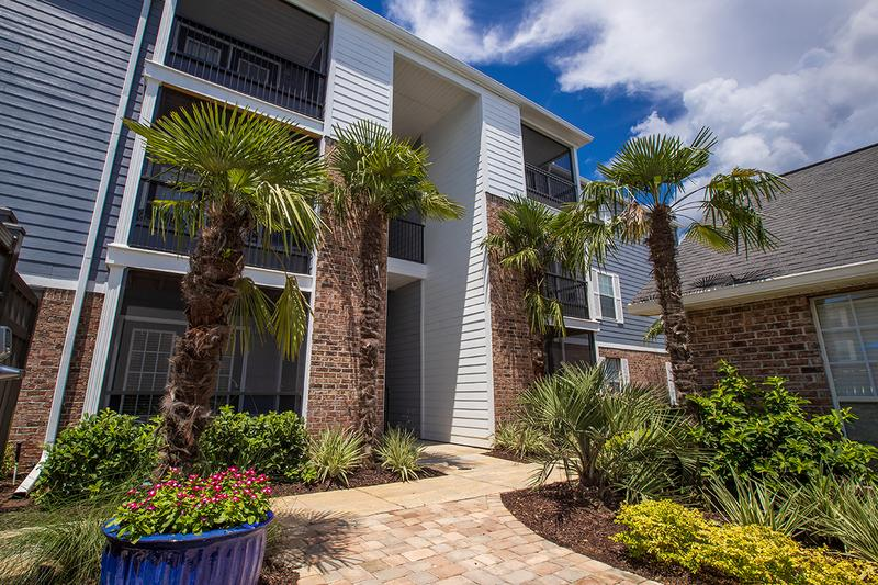 Lush Landscaping | When you live at The Sound at St. Martin, you'll be welcomed home with lush landscaping.