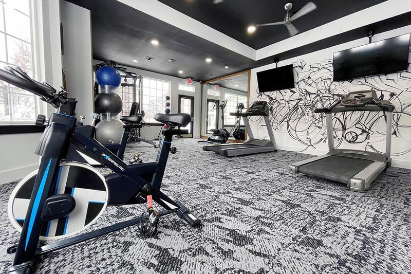New Fitness Center  | Get fit any time of day in our brand new,  24-hour fitness center.