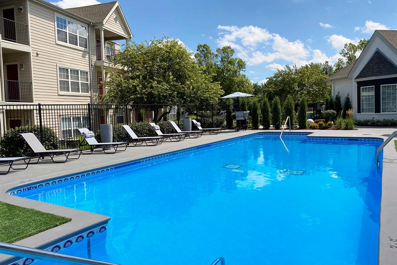 Resort-Style Pool | Take a dip in our resort-style pool or lay out on the expansive sundeck.