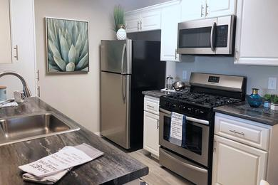 Stainless Steel Appliances | Upgraded apartments with stainless steel appliances available to rent.