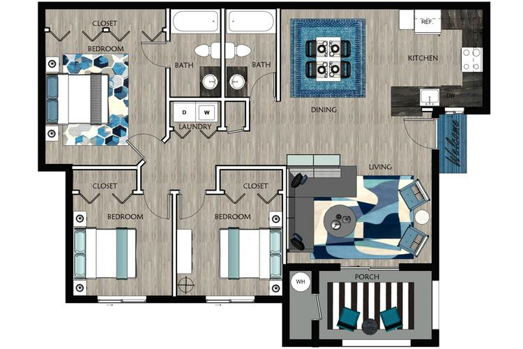 apartment floor plans pricing millennium east luxury apartments