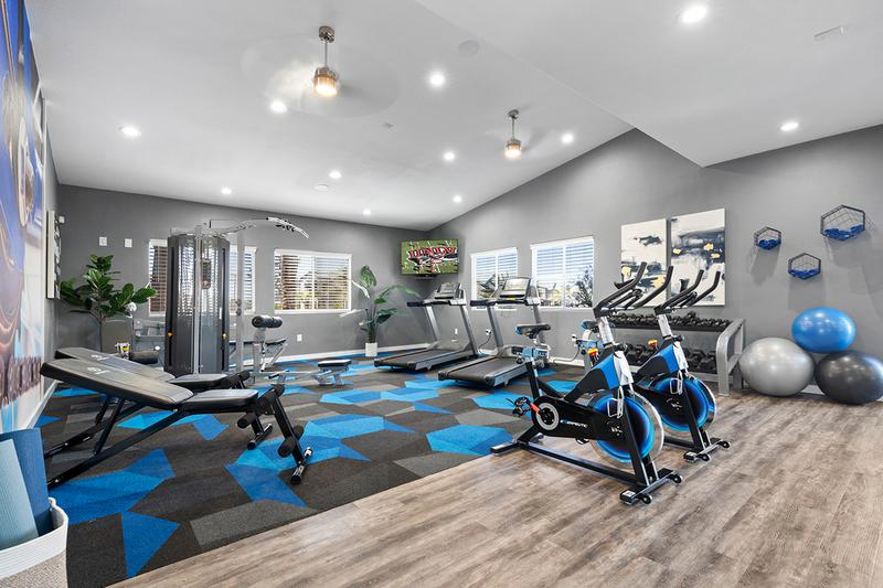 Fitness Center with Cardio Equipment | Save on a gym membership because Millennium East offers free resident fitness center.