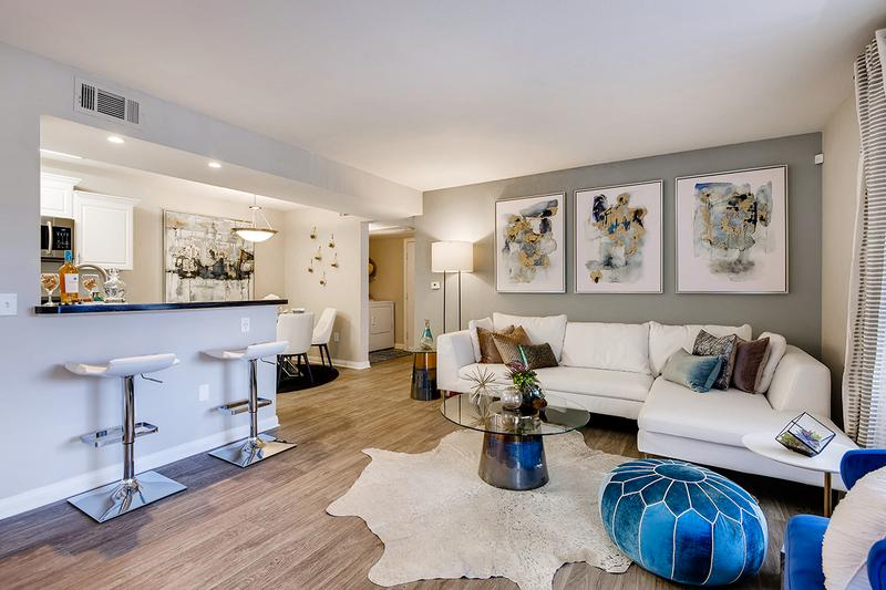 Spacious, Open Layouts | Entertain guests in this inviting and spacious living room with gorgeous natural, Las Vegas sunlight streaming through!