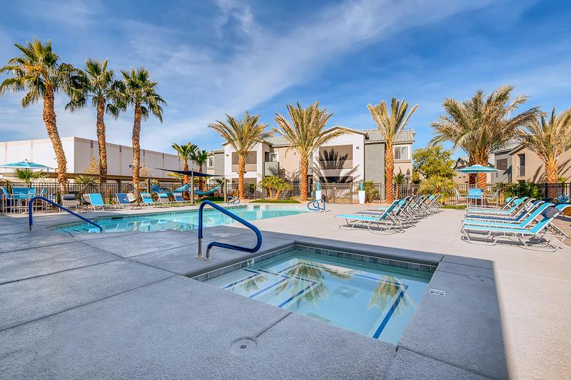Resort-Style Pool | Take a dip in our sparkling, resort-style pool; perfect on a hot summer day!