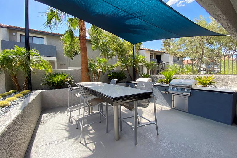 Outdoor Kitchen | Keep an eye out for our outdoor, poolside kitchen.