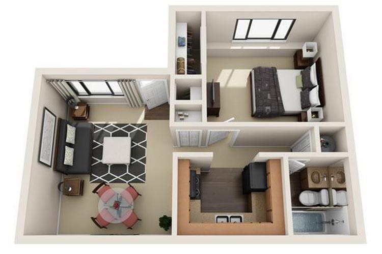 1 bedroom apartment floor plans pricing v lane - 1 bedroom apartments in las vegas ...