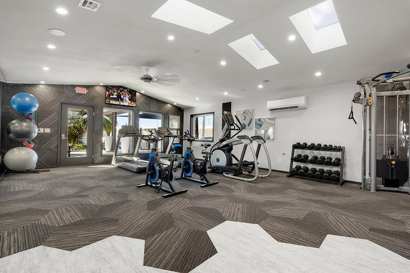 State-of-the-Art Fitness Center | Get fit in our brand new, state-of-the-art Fitness Center featuring all the cardio and weight training equipment you need.