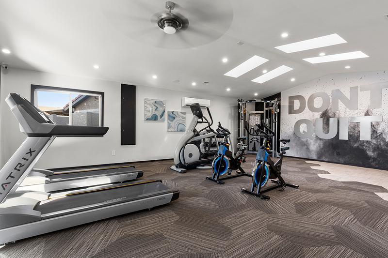 Cardio Equipment | Our fitness center also features all the cardio equipment you need.