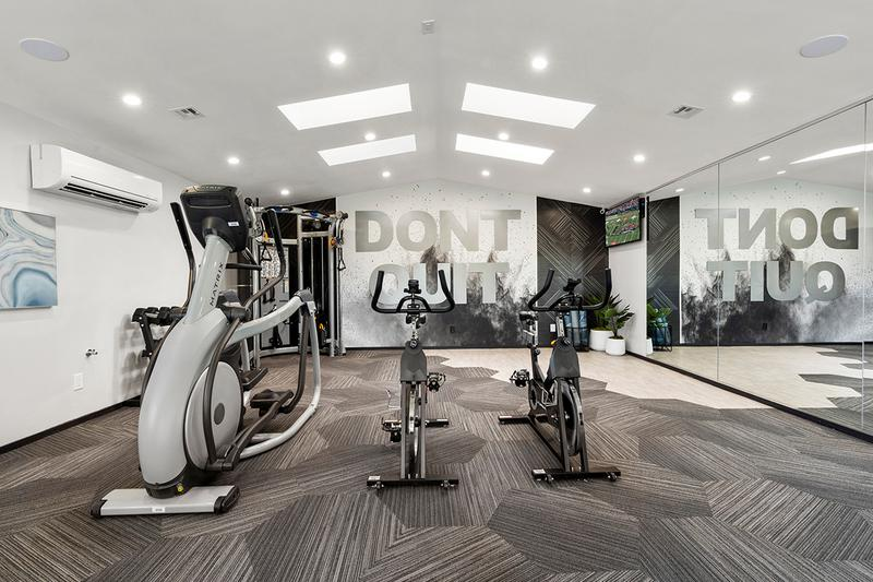 Fitness Center | When you have access to our fitness center, you won't be able to quit your workout goals.