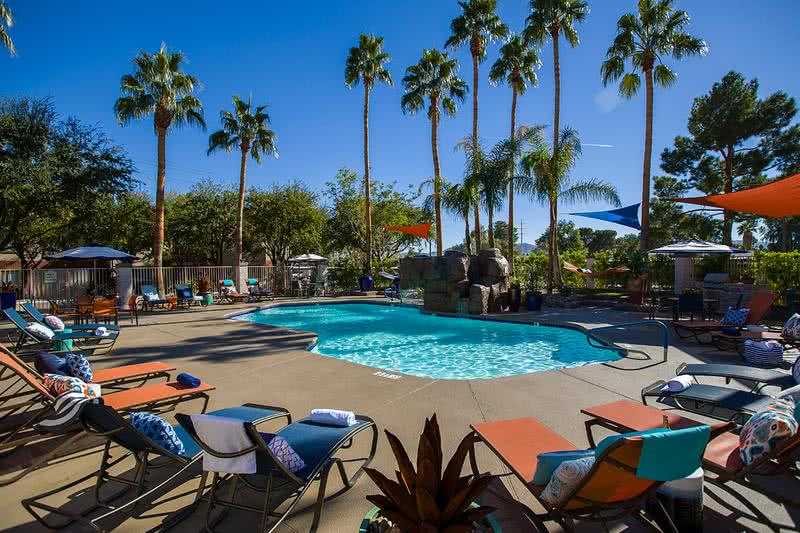 Resort-Style Pool | Unwind after a long day at our resort-style pool.