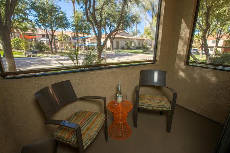 Patio/Balcony | You'll love having a private patio/balcony right outside your living room.