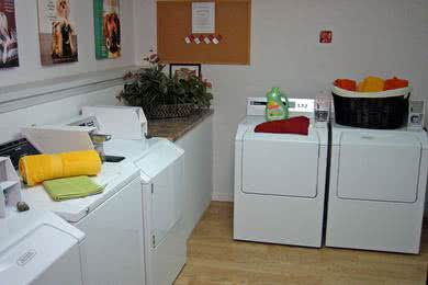Community Laundry Room | We also have a community laundry room.