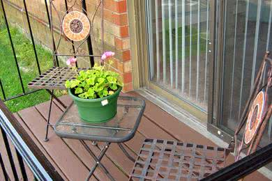 Private Patio | Apartment homes feature your very own private patio or balcony.