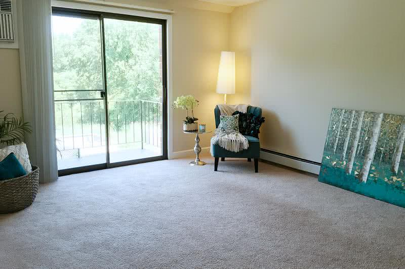 Living Room | Cozy living room featuring sliding doors to your private patio or balcony.