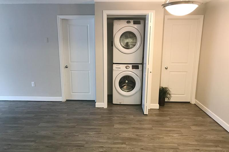 In Home Washer/Dryer | Residents have the option of having in home washer and dryer appliances in select units.