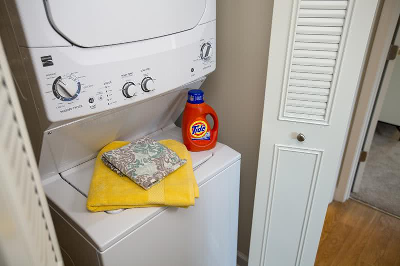 Washer & Dryer | All of our apartment homes feature washer and dryer appliances.