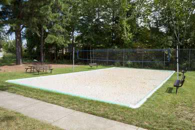 Sand Volleyball Court | Play a game of volleyball on our sand volleyball court.