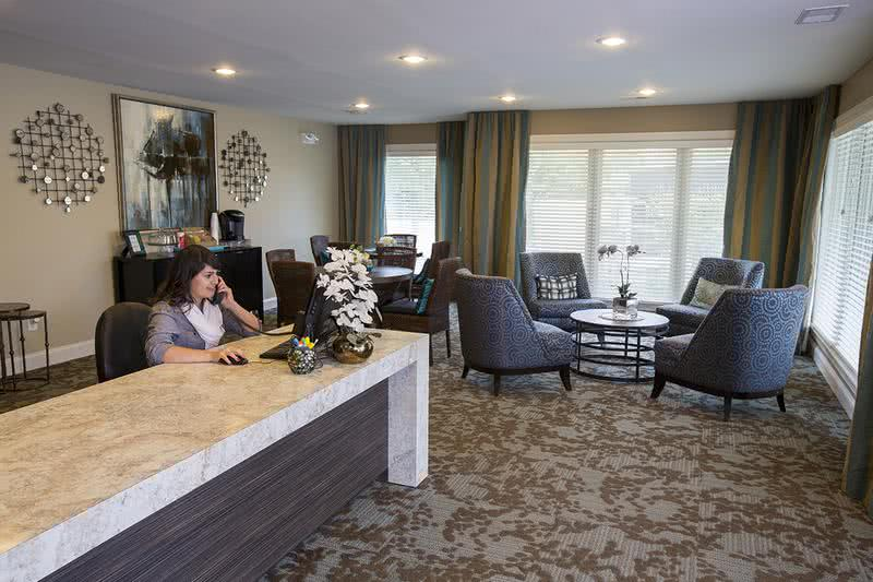 Office Interior | Our leasing professionals are waiting to help you find your new home.