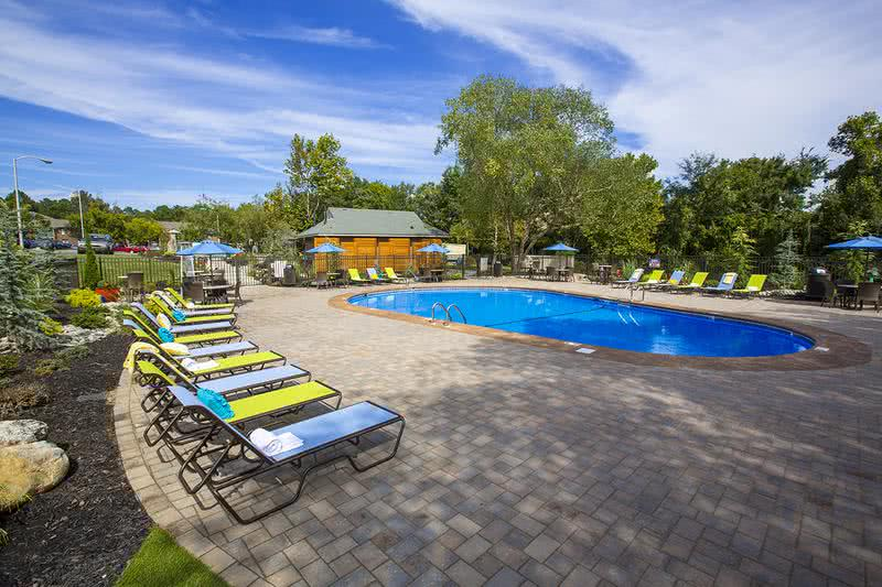 Resort-Style Pool | Sparkling resort-style pool with plenty of loungers and seating.