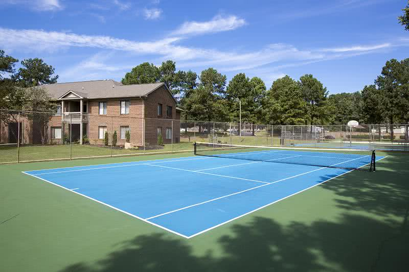 Tennis Court | Is tennis your thing? Enjoy a game with a friend at our tennis court.