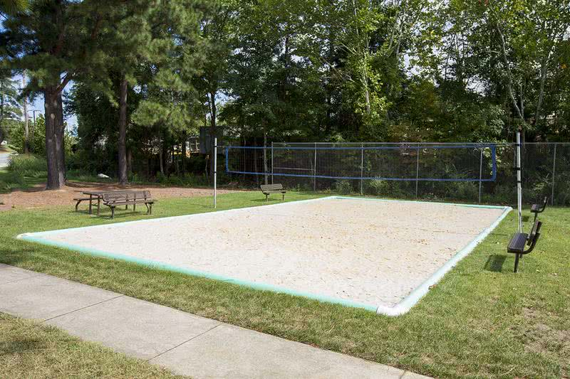Volleyball | Come on down to our sand volleyball court for a game.