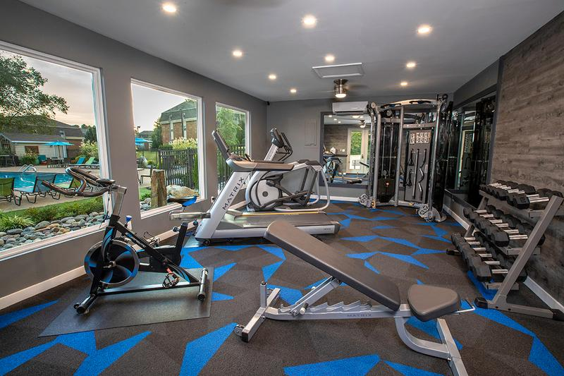 Fitness Center | Our fitness center has all the cardio and weight training equipment you need for a full body workout.