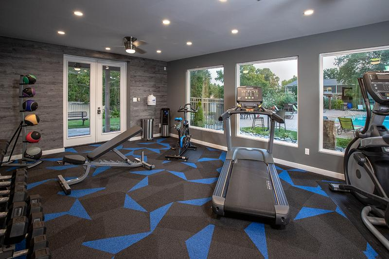 State-of-the-Art Fitness Center | Get an invigorating workout in our brand new state-of-the-art fitness center.