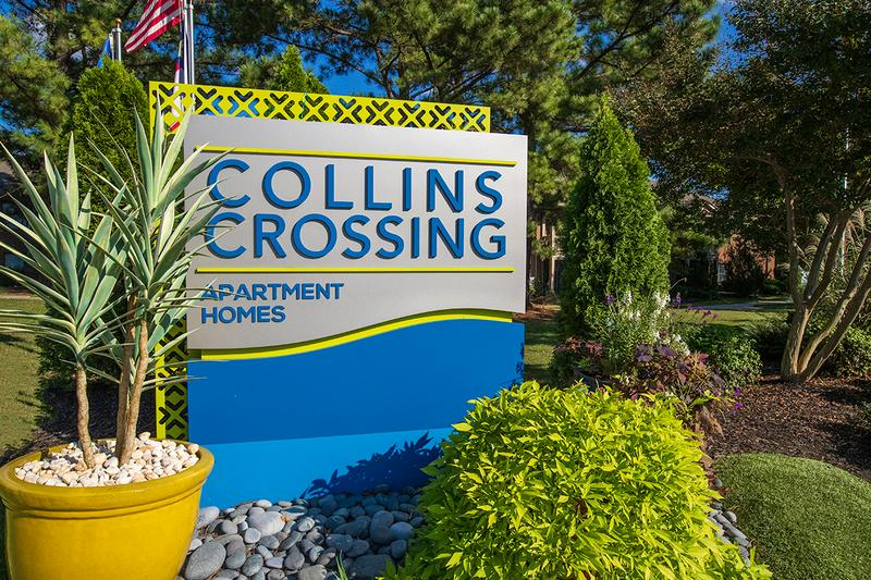 Collins Crossing | Welcome home to Collins Crossing Apartment Homes!