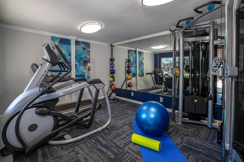 24-Hour Fitness Center | Get in your workout any time of day at our 24-hour fitness center.