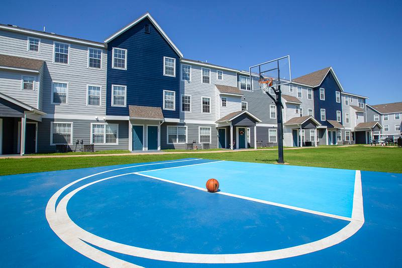 Basketball Court | Shoot some hoops on the outdoor basketball court