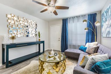 Spacious Living Rooms | Enjoy our modern upgrades throughout the apartment home.
