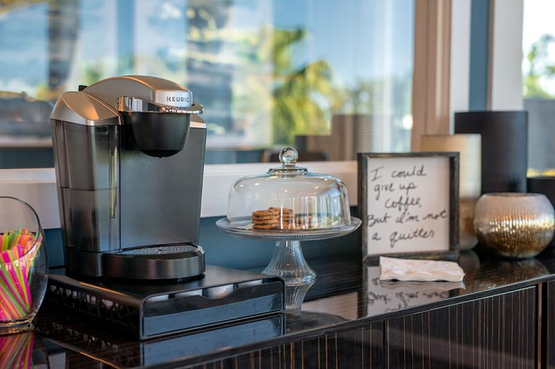 Complimentary Coffee | Come on into the leasing office for a cup of complimentary coffee!