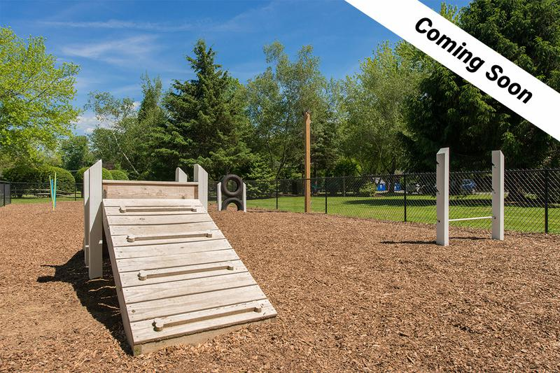 Dog Park | Keep an eye out for our off-leash dog park coming soon!
