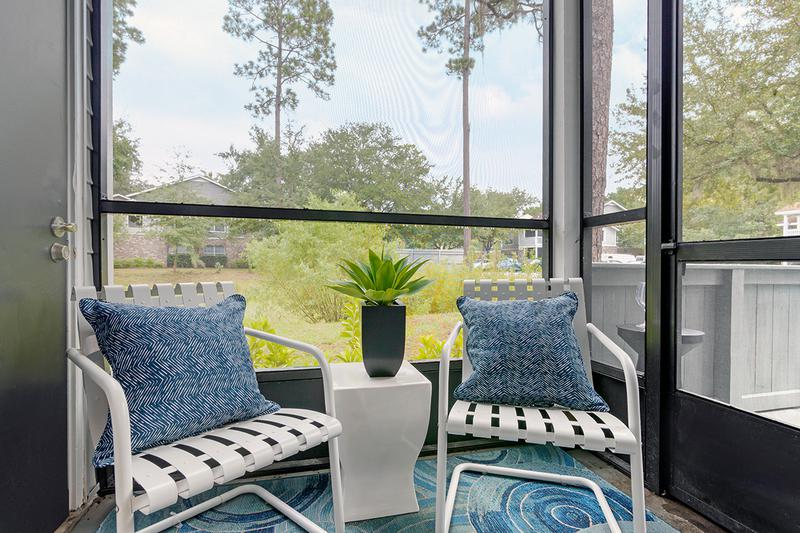 Screened In Porches | Enjoy the outdoors from the privacy of your own screened-in porch.
