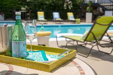 Sparkling Pool | Go for a swim in our sparkling swimming pool.