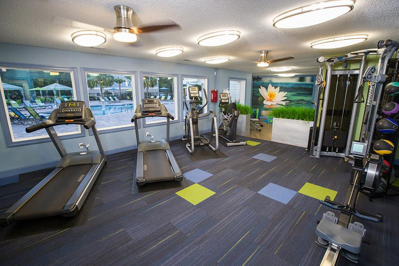 Fitness Center | Get a workout in our resident fitness center.