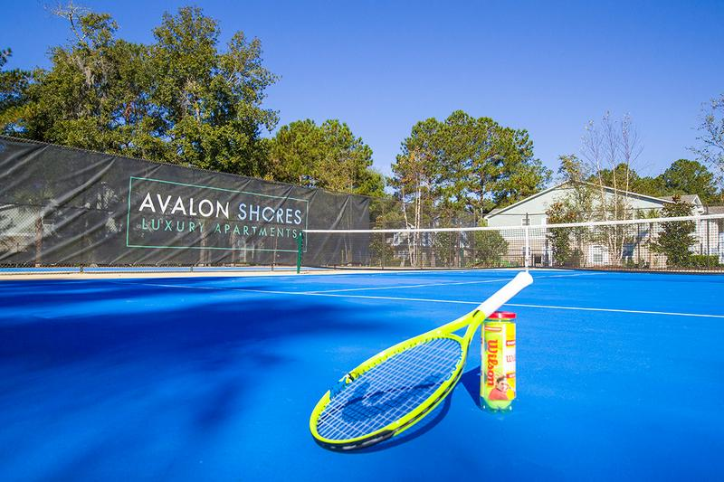Tennis Courts | Residents are able to utilize tennis courts at our sister property, Avalon Shores, located right across the street.