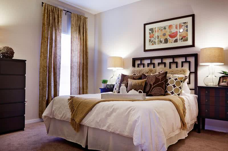 Spacious Bedroom | Spacious bedrooms featuring plush carpeting and large closets.
