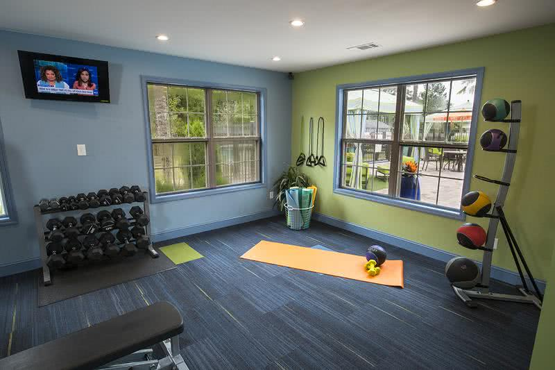 Fitness Center | Our fitness center has all the weight and cardio equipment you need to get in a good workout.