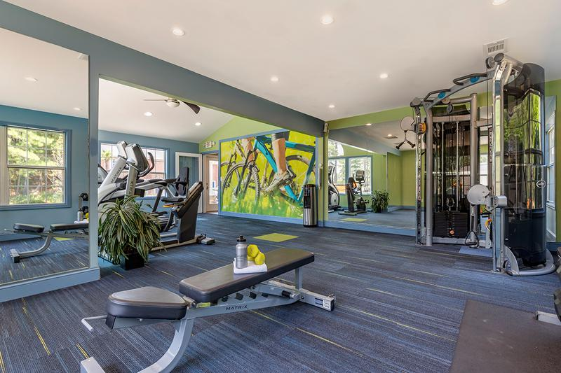 State-of-the-Art Fitness Center | Get an invigorating workout in our brand new state-of-the-art fitness center!
