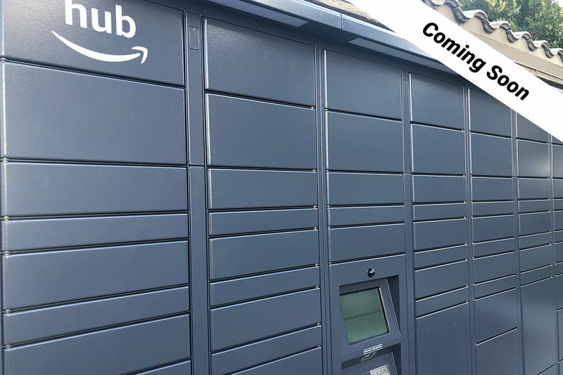 Amazon HUB Package Lockers | Retrieving your amazon packages just got easier with our Amazon hub package lockers! (Coming Soon)