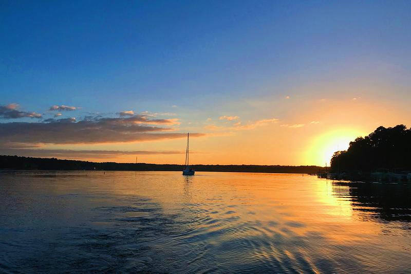 Minutes From Lake Murray | Enjoy watching a beautiful sunset on Lake Murray.