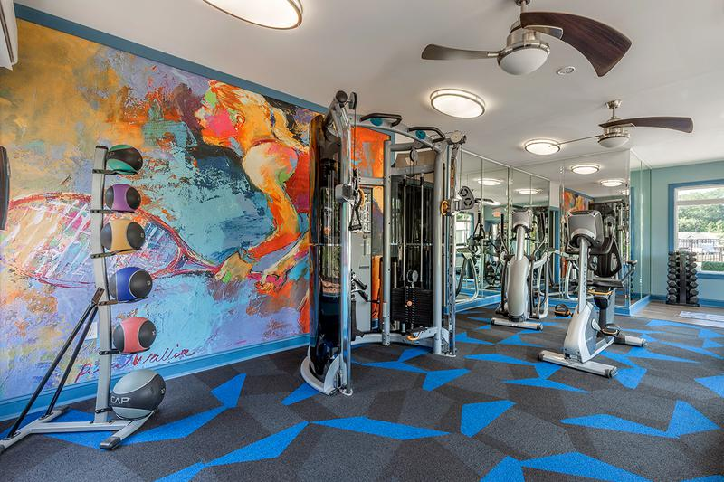 Fitness Center | Our state-of-the-art fitness center offers all the cardio and weight training equipment you need for a full body workout.