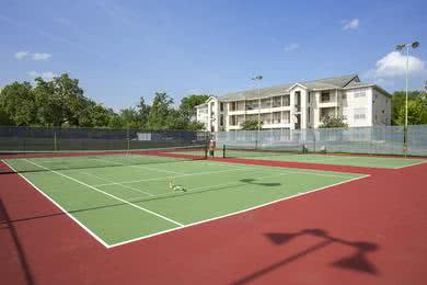 Tennis Courts | Play a game of tennis at our lighted tennis courts.