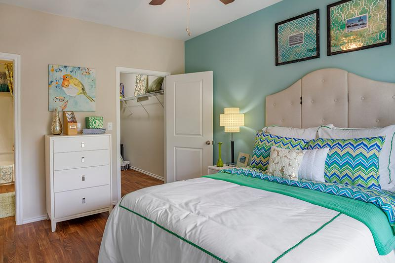 Master Bedroom | Your spacious master bedroom features a spacious walk-in closet.